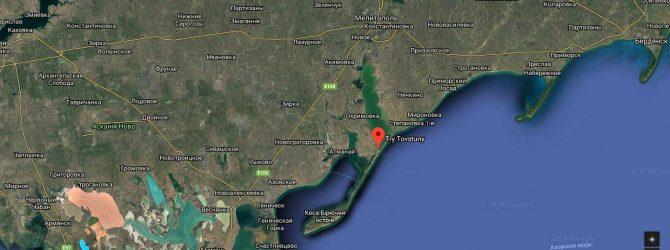 Карта Google Три Толстяка